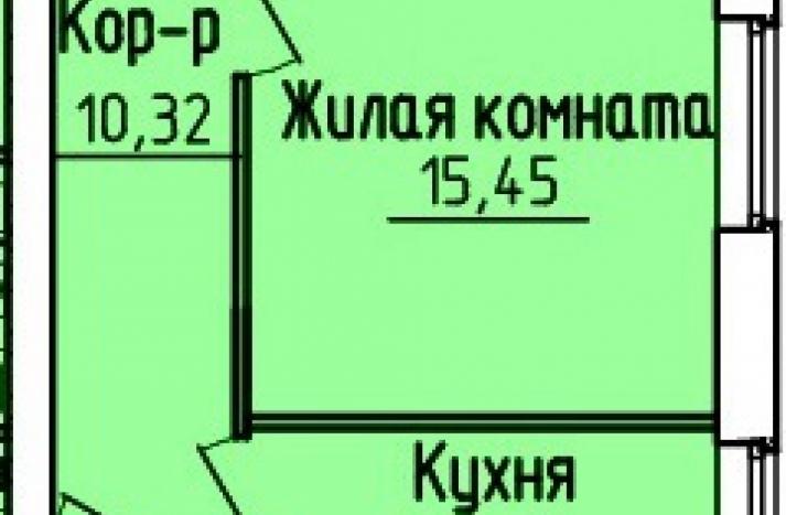 2 комнатная квартира №154