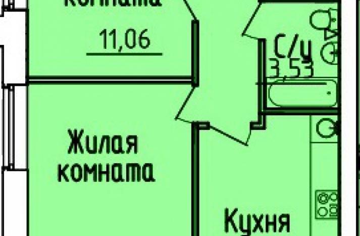 2 комнатная квартира №155