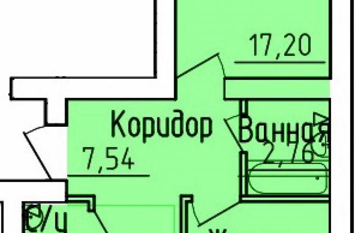 2 комнатная квартира №85